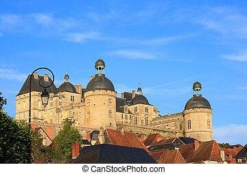 Chateau de Hautefort (Dordogne, France)