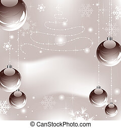 abstract xmas background - vector abstract xmas background