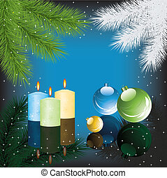xmas background - vector xmas background