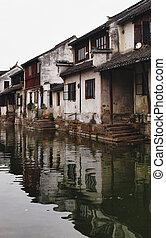 chinese water village, zhou zhuang