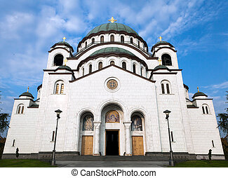 Cathedral of Saint Sava, Belgrade.