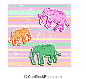 Elephant room Vector Clipart EPS Images. 46 Elephant room ...