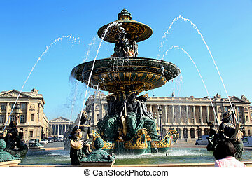 Fontaine des Mers Paris - the Fontaine des Mers on the Place...