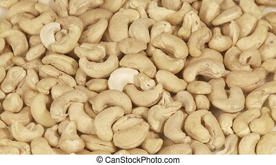 Cashew nuts   - Pile of cashew nuts, full frame background