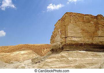 arava desert - hiking in Arava desert, Israel, stones and...