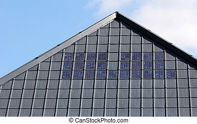 solar roofing tiles - new roofing tiles with modern solar...