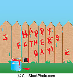 Father's day fence
