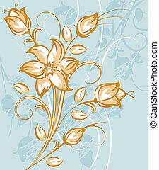 Tan and White Flower Bouquet