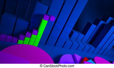 business graphics and Forex indicat