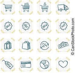 Sticker Icon Set