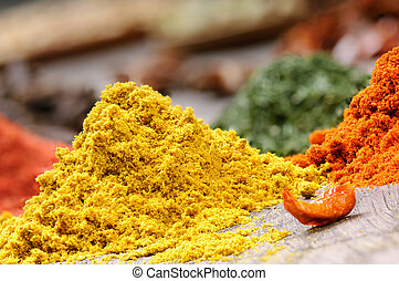 Colorful spices - Mix of colorful spices