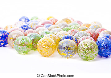 decorative glass balls - colorful decorative glass balls...