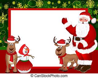 Christmas is coming - Christmas illustration