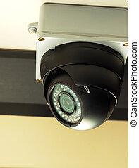 Seguridad, /, vigilancia, cámara