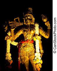 Uma Devi - The drum ceremony for holy god of Hindu.