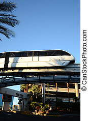 Monorail in Use