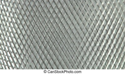 Metal Mesh Background   - Metal Mesh Background