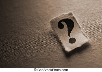Question Mark - Picture of a question mark.