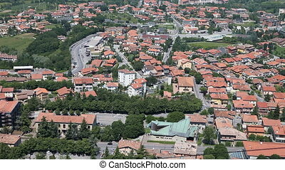 San Marino   - View on the new part of the San Marino