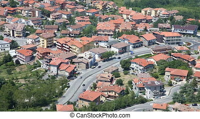 San Marino - A birds-eye view of San Marino