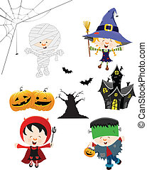 Halloween Kid Set - Halloween collection