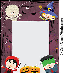 Halloween Kids - Halloween Kid's Message
