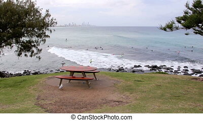 Burleigh Heads 1 - View from Burleigh Heads Hill looking...