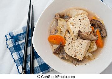 Simple Oriental delicacy