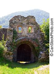 Ruins of Sain Michael church - The Saint Michael Church is...