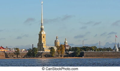 Peter and Paul Fortress in the morning