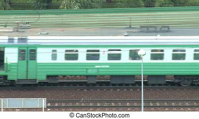 Passenger train   - Passenger train