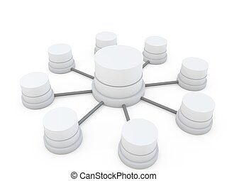 3d database structure