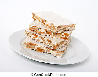 Turron, traditional Spanish dessert - Turron, traditional...