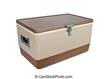 Vintage Ice Chest - Vintage ice chest cooler from the 1970's...