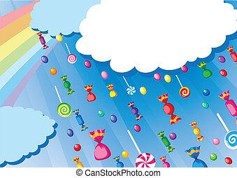 candy rain card