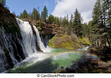 CA-McArthur Burney Falls State Park - While traveling...