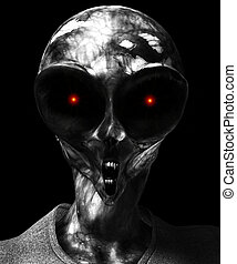 Zombie Alien Vampire - A mix of a zombie, alien and Vampire...
