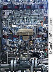 Natural Gas Compressor - Complex natural gas compressor...
