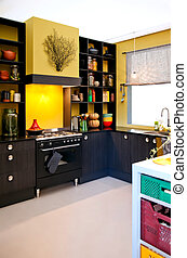Kitchen in country style - Kitchen, designed in autumn...
