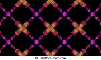 orange and purple pattern disco background - Disco...