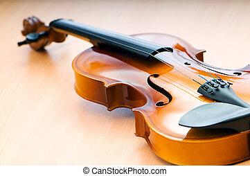 begrepp, musik,  violing