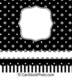 Black Christmas card