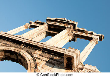 Greece, Athens. Arch of Hadrian. - Greece, Athens. Arch of...