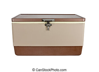 Retro Cooler - Retro ice chest cooler from the early 1970s...