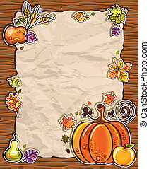 Thanksgiving paper arrangements 2