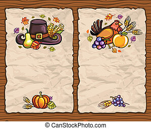Thanksgiving paper arrangements 1 - Beautiful Holiday paper...