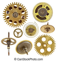 various cog wheels - Detail of the various cog wheels