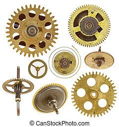 various cog wheels -  Detail of the various cog wheels