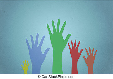 Raise Hands volunteering or voting