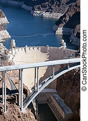 Hoover Dam - Aerial View of Hoover Dam